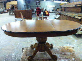 After Oval Table