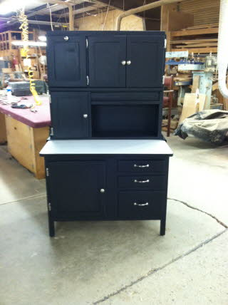 hoosier cabinet after