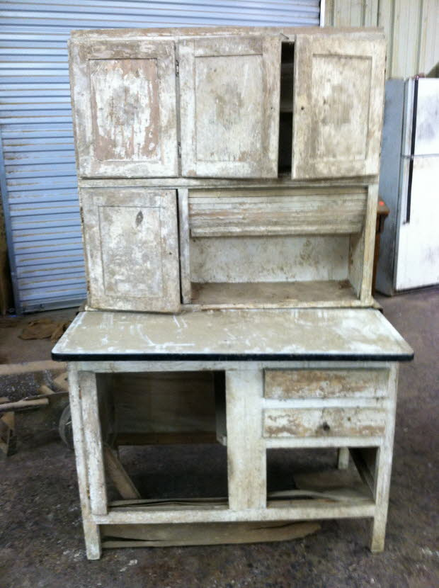 hoosier cabinet before
